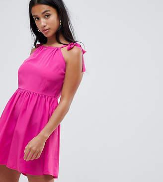 Vero Moda Petite petite tie shoulder cami dress