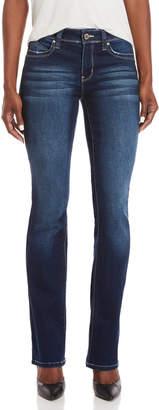 YMI Jeanswear Mid-Rise Boot Leg Jeans