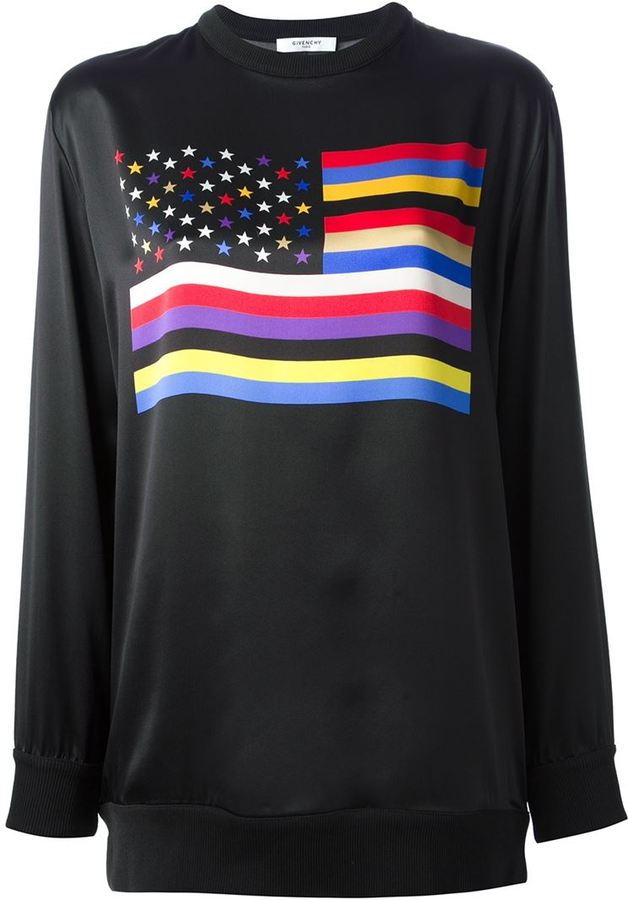 Givenchy flag sweater