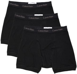 Calvin Klein Underwear Cotton Classics 3 Pack Boxer Briefs $40 thestylecure.com