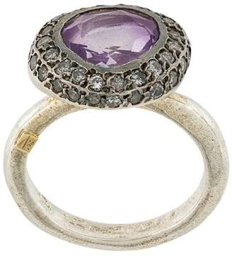 Rosa Maria ametrine and diamond ring