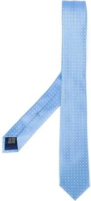 Fashion Clinic Timeless woven polka dot tie