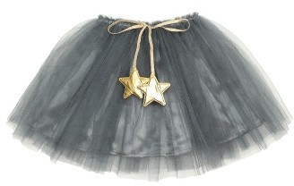 Girl's Popatu Gold Star Tutu Skirt $22 thestylecure.com