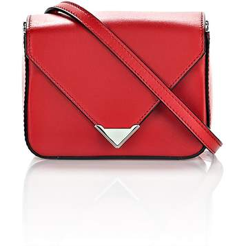 Alexander Wang Mini Prisma Envelope Sling In Cult With Rhodium