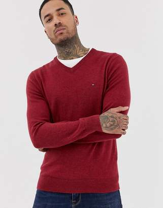 Tommy Hilfiger lambswool v neck jumper
