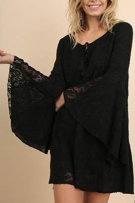 Umgee USA Black Lace Dress