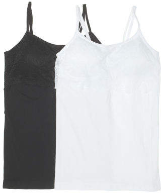 2pk Seamless Fashion Camisoles