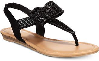 Material Girl Seana Flat Sandals, Women Shoes