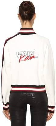 Karl Lagerfeld X Kaia Embroidered Track Jacket