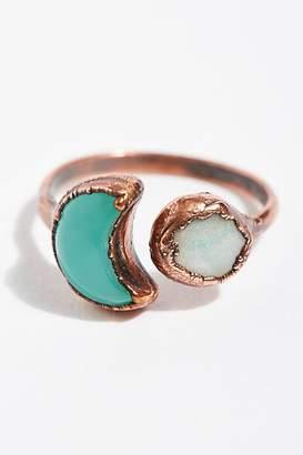 Inner Compass Raw Stone Ring