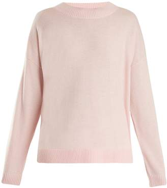 Frame Round-neck wool and cashmere-blend sweater