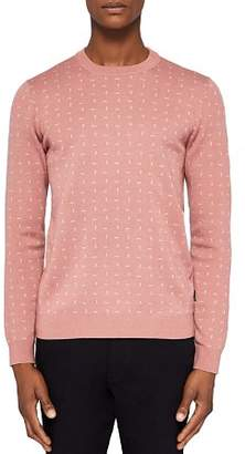 Ted Baker Crazy Geo Jacquard Sweater