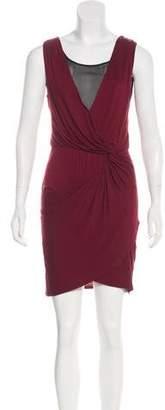 Robert Rodriguez Draped Mini Dress