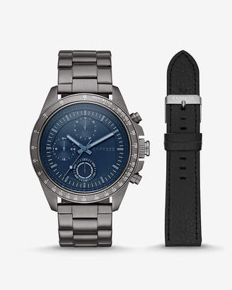Express Chronograph Multi-Function Watch Gift Set