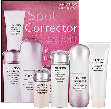 Shiseido White Lucent Spot Corrector Expert 10 Days To Brighter Skin Kit