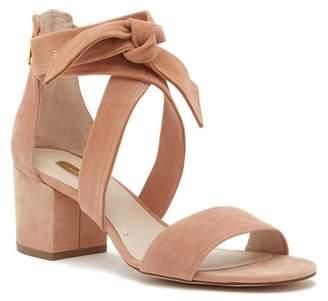 Louise et Cie Gia Block Heel Leather Sandal