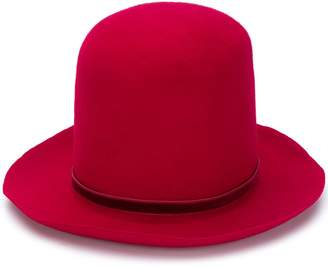 Ann Demeulemeester large fedora hat