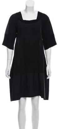 Marni Off-Shoulder Dress Black Off-Shoulder Dress