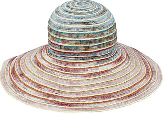 Missoni Mare Wide Brim Straw Hat