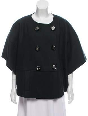 Prada Double-Breasted Wool Coat w/ Tags