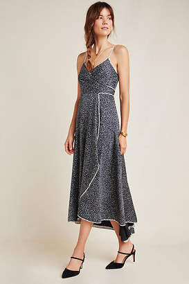 Hutch Cantabria Wrap Maxi Dress