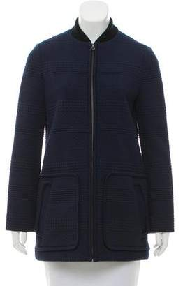 Tory Burch Long Sleeve Zip-Up Jacket