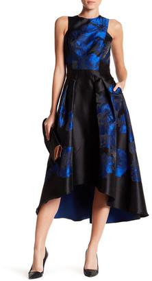 Shoshanna Coraline Hi-Lo Floral Dress $595 thestylecure.com