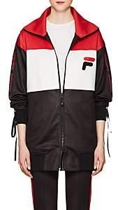 D-ANTIDOTE Women's Logo Colorblocked Track Jacket - Black