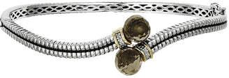 Couture FINE JEWELRY Shey Genuine Smoky Quartz and Diamond-Accent Bangle Bracelet