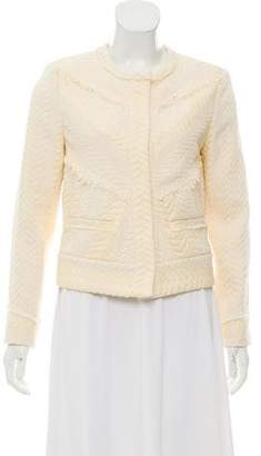 IRO Collared Textured Jacket