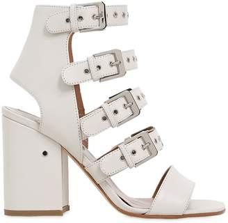 Laurence Dacade 90mm Kloe Buckles Leather Sandals