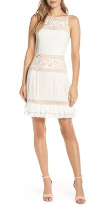 Adelyn Rae Nia Pleated A-Line Dress