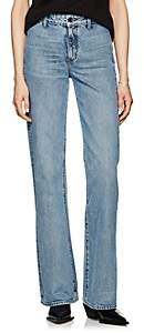Helmut Lang WOMEN'S HIGH-RISE STRAIGHT JEANS - LT. BLUE SIZE 29