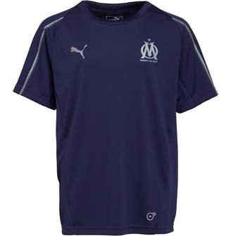 Puma Boys Olympique Marseille Training Top Peacoat/Bleu Azur