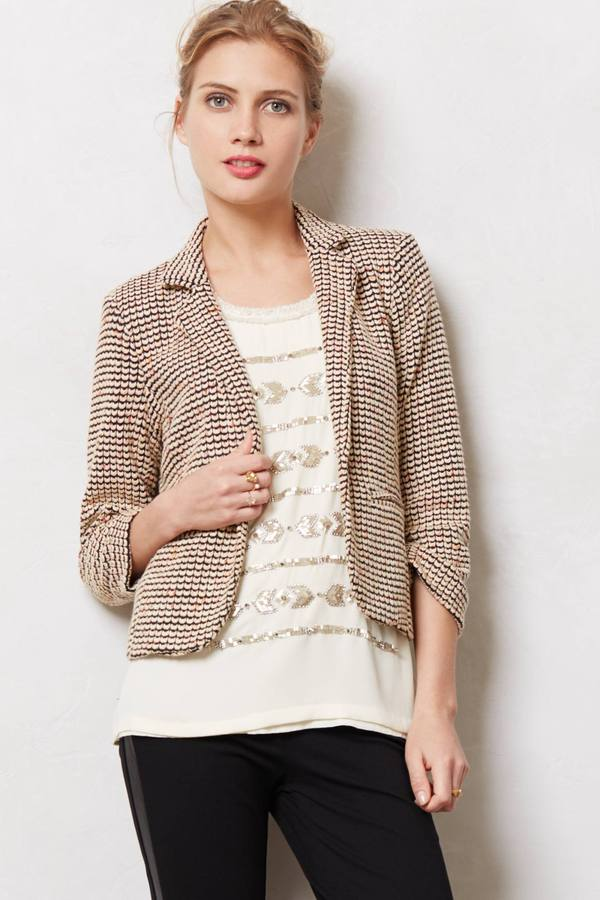 Anthropologie Tamsin Blazer