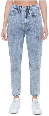 Juicy Couture Acid Wash Denim Girlfriend Jean
