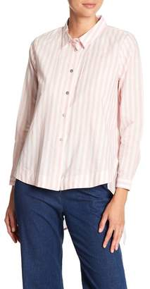 Insight Flowy Stripe Buttondown Shirt