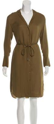 Lafayette 148 Sequoia Long Sleeve Dress w/ Tags