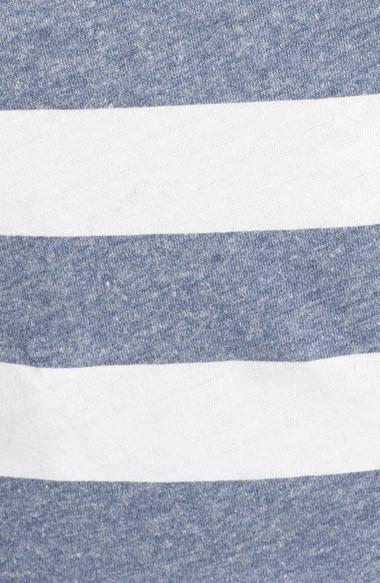 Billabong 'Before Me' Stripe Knot Front Crop Tee (Juniors)