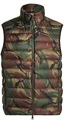 Polo Ralph Lauren Men's Packable Camo Down Vest