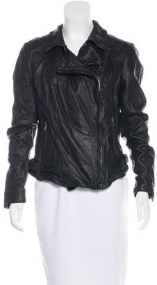 Muubaa Leather Moto Jacket $245 thestylecure.com