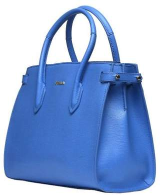 Furla Light Blue Pin Tote