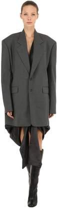 Y/Project Oversized Wool Blend Blazer