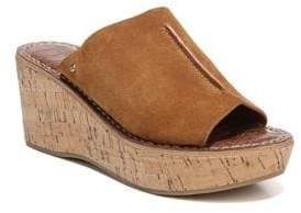 Sam Edelman Ranger Cork Wedge Sandals