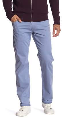 Mavi Jeans Zach Stone Washed Twill Straight Leg Jeans
