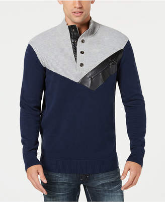 INC International Concepts I.n.c. Men's Mock Neck Sweater