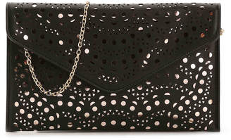 Urban Expressions Laser Cut Clutch - Women's