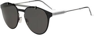 Dior Men's Metal Pilot Sunglasses $505 thestylecure.com