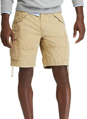 Ralph Lauren Polo Classic Fit M45 Shorts, Luxury Tan
