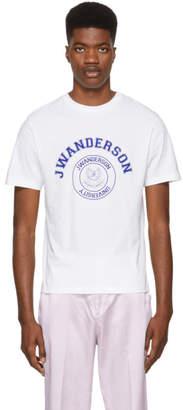 J.W.Anderson White University Logo T-Shirt